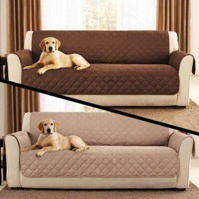 Kétoldalú kanapévédő takaró állattartóknak, mosható