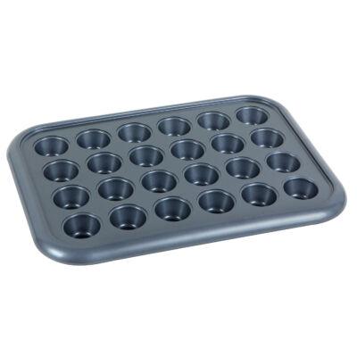 Zanussi szénacél 24 csészés mini muffin sütőforma TARANTO ZAC34211BF