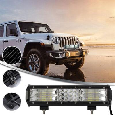 Autós fényhíd, extra nagy fényerejű munkalámpa 180W teljesítménnyel