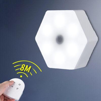 Hatszög alakú távirányítós LED világítás