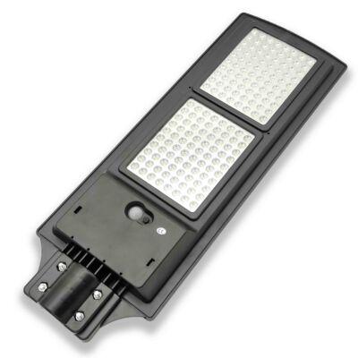 Napelemes utcai, udvari LED lámpa mozgásérzékelővel + távirányítóval - 360W