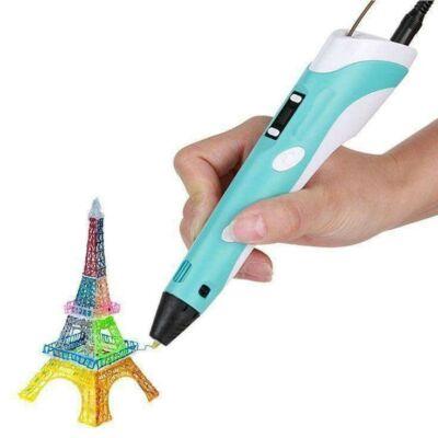 3D nyomtató toll digitális kijelzővel és ajándék nyomtatószállal