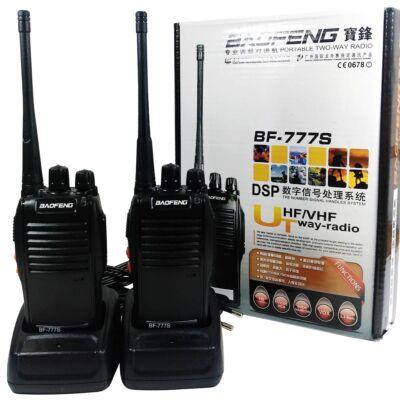 Baofeng BF-777S UHF walkie-talkie, rádió adó-vevő készlet