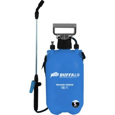 Buffalo 5 literes hordozható kézi permetező szórófejjel, B5LPS