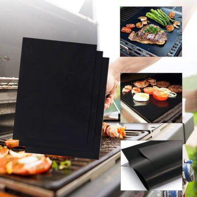 BBQ grill lap, sütőlap,  tapadásmentes hőálló lap sütőbe, grillbe