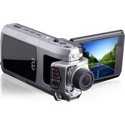 Multifunkciós FullHD kézi videókamera és autós menetrögzítő kamera