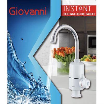Giovanni prémium átfolyós vízmelegítő csaptelep, alsó bekötésű 3600W