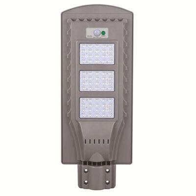 Napelemes utcai LED lámpa mozgásérzékelővel, 60W