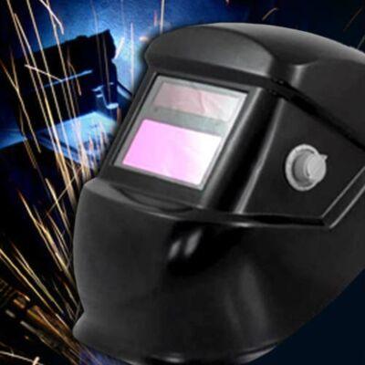 Möller állítható fényerősségű automata hegesztőpajzs MR60422