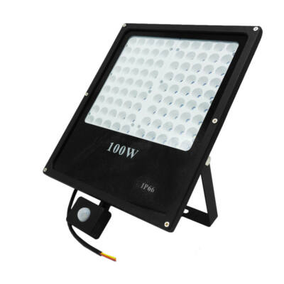 SMD LED reflektor mozgásérzékelővel, 100W