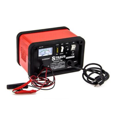Straus akkumulátor töltő gyorstöltés funkcióval, 12/24V, 14A ST/CA8-14B