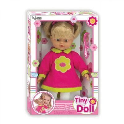 Loko Toys játékbaba, hajasbaba fésűvel, 32cm