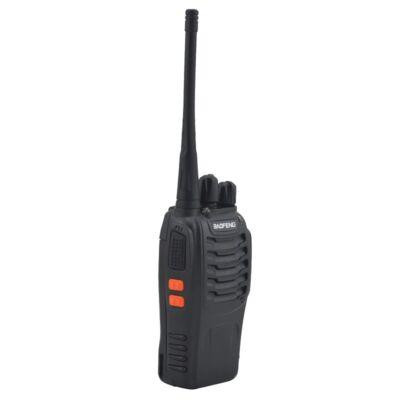 Baofeng BF-888S UHF walkie-talkie, 16 csatornás rádió adó-vevő fülhallgatóval