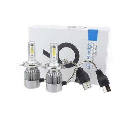 C6 LED autó fényszóró izzó pár H4 foglalattal - hidegfehér