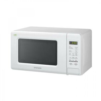 Daewoo Mikrohullámú sütő, 20 L, 800 W, Fehér, KOR-6S2BW - csomagolássérült