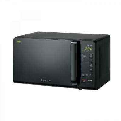 Daewoo Mikrohullámú sütő, 20 L, 800 W, Fekete, KOR-6S3DBK - csomagolássérült