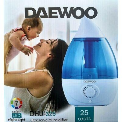 Daewoo ultrahangos hidegpárásító, 25W teljesítménnyel, LED hangulatfénnyel DHU-325