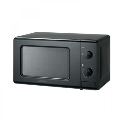 Daewoo Mechanikus Mikrohullámú sütő, 20 liter,, 700 W, Fekete, KOR-6S20K - csomagolássérült