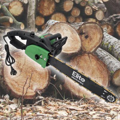 Elite® elektromos láncfűrész, 405mm vágólap, 2400W teljesítmény - ECS-2416