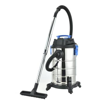 Elite® száraz-nedves ipari porszívó 3 szívófejjel 1400W, 25 l-es tartály + HEPA szűrő + teleszkópos fém szívócső - WDVC-25-1400