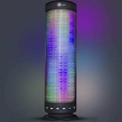 Falcon bluetooth hangszóró váltakozó fényű LED világítással, LED-360