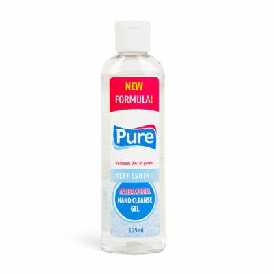 Pure antibakteriális kézfertőtlenítő gél, 125 ml