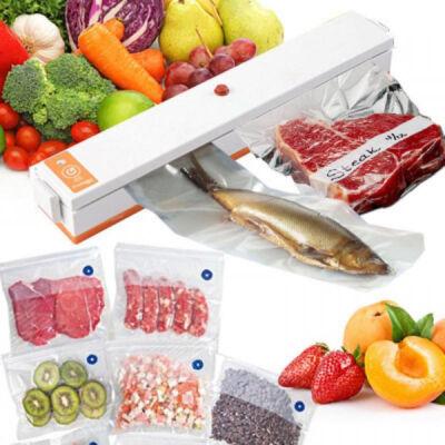 FreshpackPro vákkuumfóliázó, vákuumcsomagoló készülék 10db zacskóval