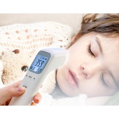Digitális infravörös non kontakt érintésmentes lázmérő és hőmérő