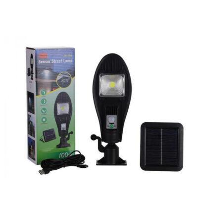 Mozgásérzékelős LED lámpa különálló napelemmel, 100W