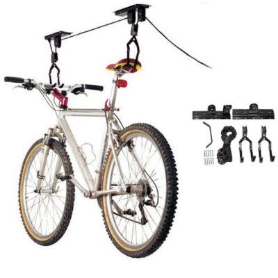 Mennyezetre szerelhető kerékpár tároló, kerékpár lift
