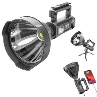 Extra fényerejű, nagy teljesítményű, akkumulátoros multifunkcionális keresőlámpa, P50