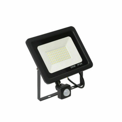 SMD LED reflektor mozgásérzékelővel, 50W