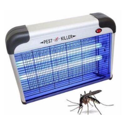 Elektromos rovarcsapda 2db UV csővel - alumínium házzal 12W