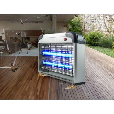 Elektromos rovarcsapda 2db UV csővel - alumínium házzal 20W