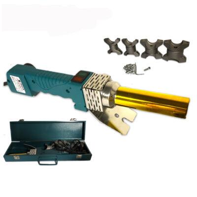 Straus műanyagcső hegesztő gép, 800W, fém kofferben, ST/PWM-0802