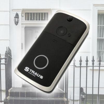 Straus beépített kamerás vezeték nélküli WiFi kapucsengő, videócsengő