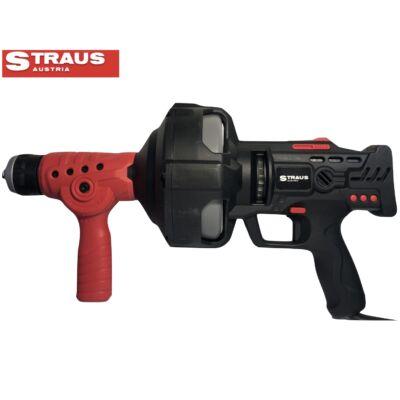 Straus elektromos csőtisztító 750 W, 7,5 m csővel ST/EPC-750
