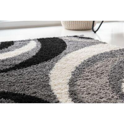 Shaggy szőnyeg, szürke mintával, Elizabeth, 120x170cm