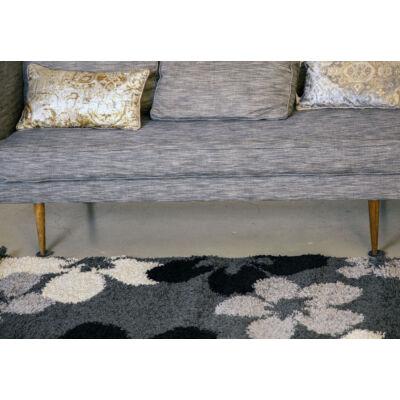 Shaggy szőnyeg, virágos mintával, Flora, 120x170cm, 3cm szálhossz