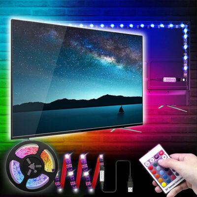 Univerzális USB LED szalag, TV háttérvilágítás, távirányítóval