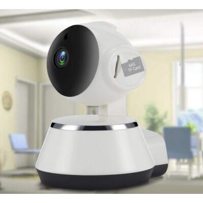 Mini Smart távolról vezérelhető éjjellátó IP HD kamera körbeforgatható fejjel, beépített antennával