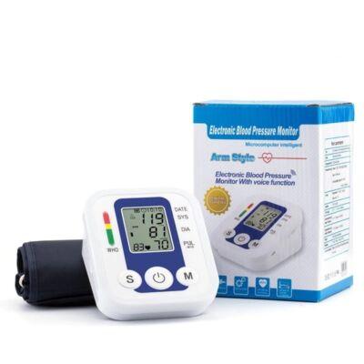 Digitális automata vérnyomásmérő WHO skálával, felkaros