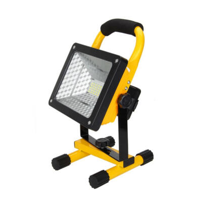 Csepp- és porálló hordozható akkumulátoros LED reflektor, 50W
