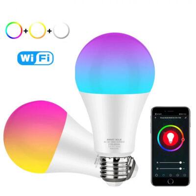WiFi RGBW LED okosizzó, okostelefonról vezérelhető, 9W
