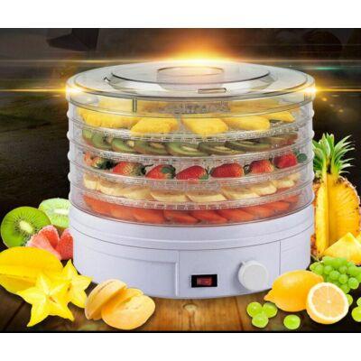 Zurrichberg 5 emeletes elektromos aszaló és gyümölcsszárító gép, 800W