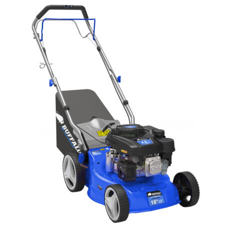 Buffalo önjáró benzinmotoros fűnyíró, 149 ccm, 4 LE, 55 literes fűgyűjtővel, BLM460SP