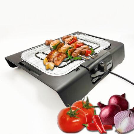 Royalty Line elektromos asztali grillsütő, 2000W teljesítménnyel