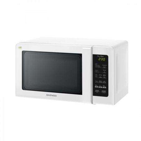 Daewoo Digitális Mikrohullámú sütő, 20 L, 800 W, Fehér, KOR-6S2DBW - csomagolássérült
