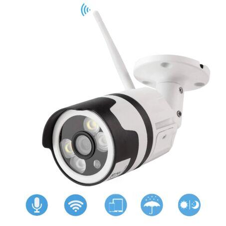 Kültéri vezeték nélküli fullHD biztonsági kamera, IP kamera, F6003-4