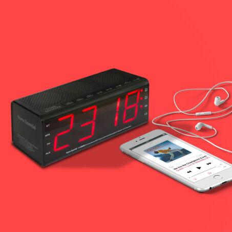 Falcon rádiós ébresztőóra és bluetooth hangszóró, YM-200